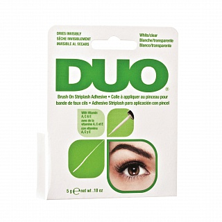 Duo Eyelashes Adhesive/ Clear Brush On Adhesive Прозрачный